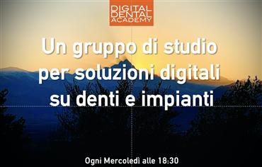 Un gruppo di studio  per soluzioni digitali  su denti e impianti