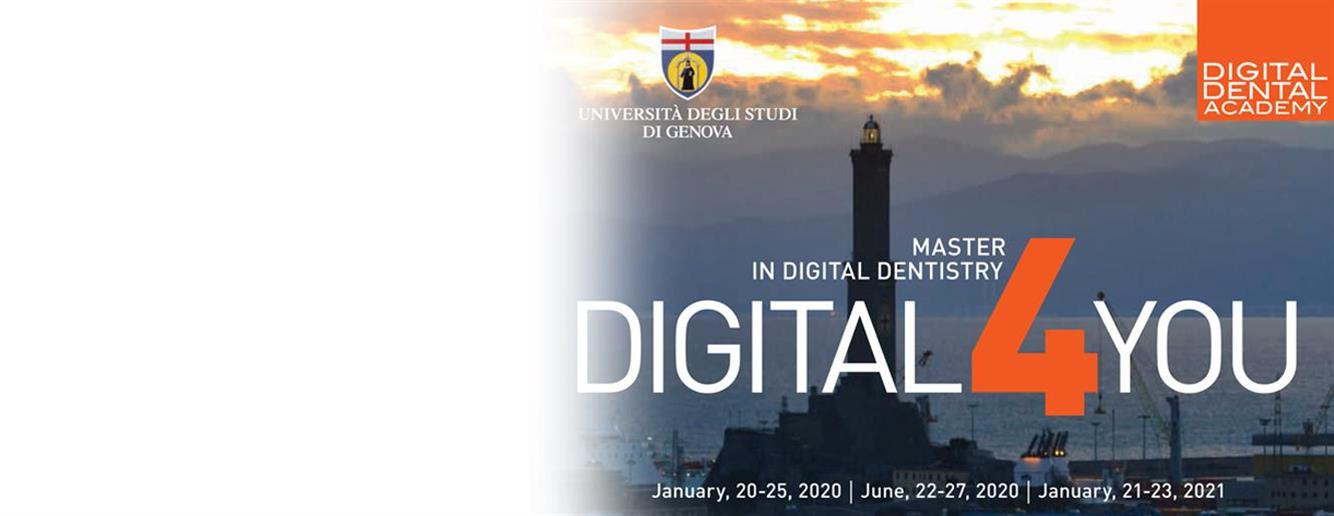 DIGITAL 4 YOU<br />Genova January 2020, June 2020, January 2021